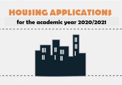 First round of accommodation application for 2020/21...