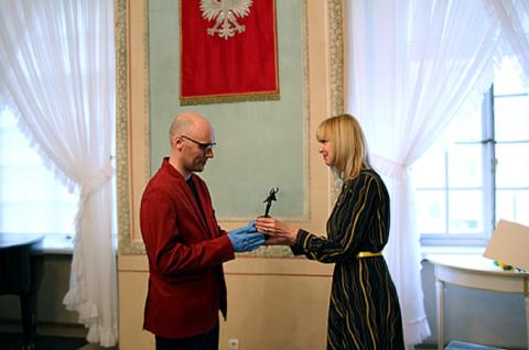 Łukasz Kucharski z TV UMCS laureatem nagrody AKLAUD...