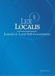 Lex Localis - Journal of Local Self-Government Annual...