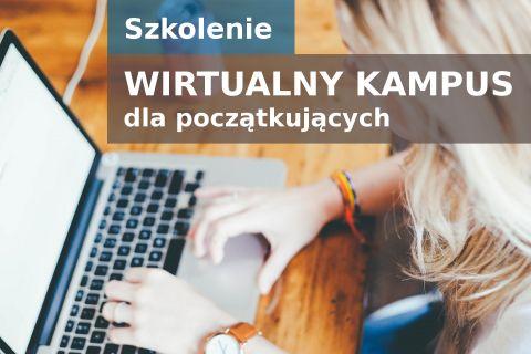 """Szkolenie """"Wirtualny Kampus dla początkujących"""""""