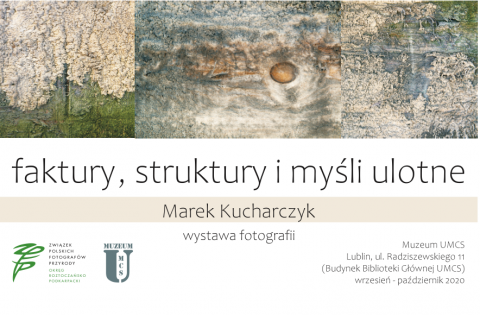 Faktury, struktury i myśli ulotne - wystawa fotografii