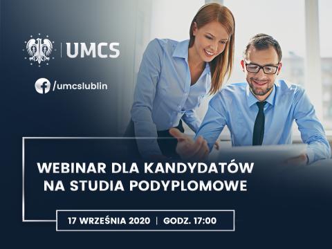 UMCS dla nauczycieli - webinar z ofertą studiów...