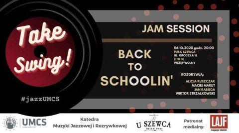 ZAPROSZENIE NA KONCERT Back to Schoolin' // Jam...