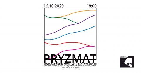 "INVITATION TO EXHIBITION ""Pryzmat"""