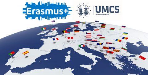 Rekrutacja uzupełniająca w ramach programu Erasmus+ na...