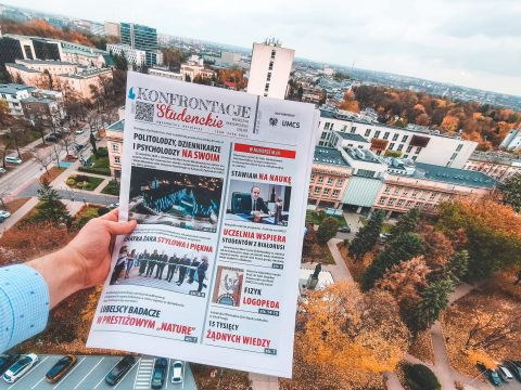"""Nowy numer """"Konfrontacji Studenckich"""""""
