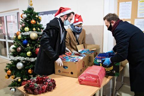 Подарунки від Святого Миколая для мешканців гуртожитків UMCS