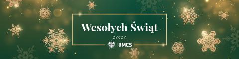 Святкові привітання ректора UMCS (українською мовою)