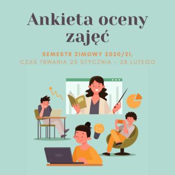 Ankieta Oceny Zajęć – semestr zimowy 2020/2021