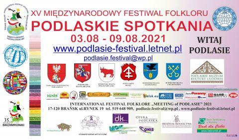 """Międzynarodowy Festiwal Folkloru """"Podlaskie spotkania"""" -..."""