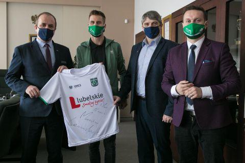 Marcin Lewandowski gościem UMCS