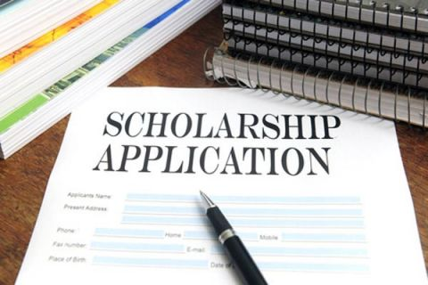 The scholarship application for Ph.D. students...
