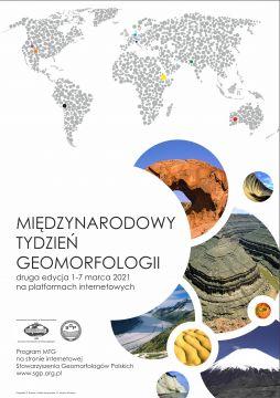 Międzynarodowy Tydzień Geomorfologii - zapraszamy!