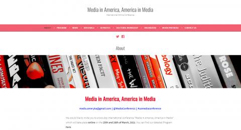 Media in America, America in Media: zapowiedź konferencji...