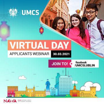 Virtual Day - applicants webinar - 30.03.2021 r.
