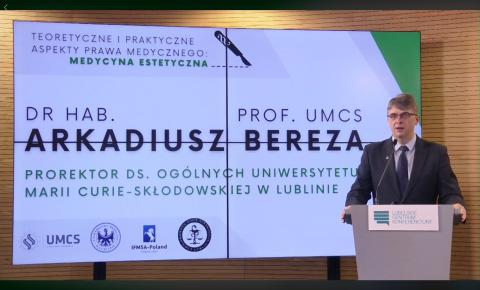 Konferencja o prawnych aspektach medycyny estetycznej
