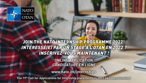 NATO Internship Programme - Opening of 19th Call for...
