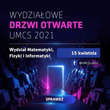 Wydziałowe Drzwi Otwarte - Wydział Matematyki, Fizyki i...