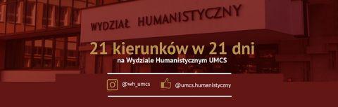 """""""21 kierunków w 21 dni""""  na Wydziale..."""
