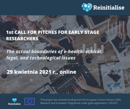 1st Call for pitches for Early Stage Researchers