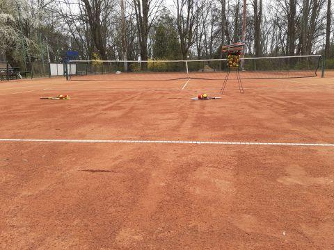 Korty tenisowe otwarte od 29.04.2021