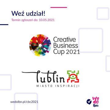 Zgłoś swój startup do Creative Business Cup