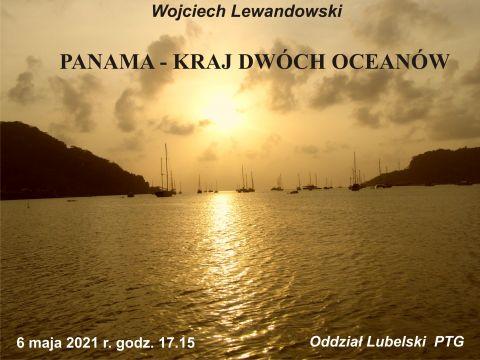 """""""Panama - kraj dwóch oceanów"""" - spotkanie PTG"""