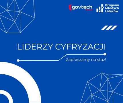 Liderzy Cyfryzacji - płatny staż w Kancelarii Prezesa...