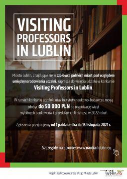 "Konkurs ""Visiting Professors in Lublin"""