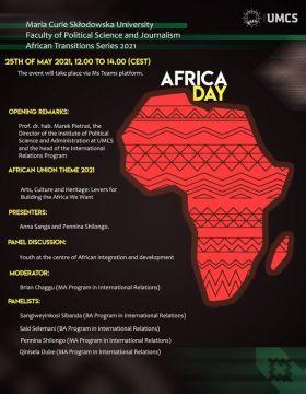 Africa Day @ UMCS