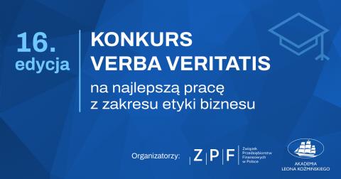 XVI edycja konkursu VERBA VERITATIS na najlepszą pracę z...