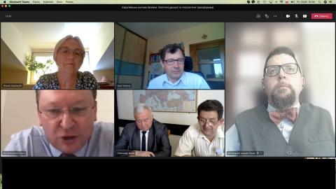 Europejski system bezpieczeństwa. Polityczne dyskusje i...