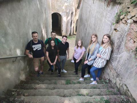 Studenci z Koła Naukowego GeoIT z wizytą w Przemyślu
