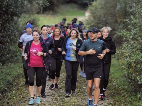 Slow jogging i letnia kąpiel leśna w Ogrodzie Botanicznym...