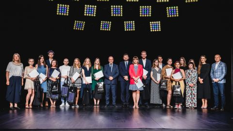 Stypendia Kulturalne Bogdanki w Chatce Żaka - rozdane!