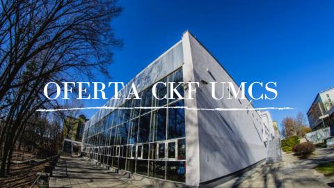 Oferta CKF UMCS