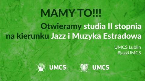 Film promujący studia II stopnia na kierunku Jazz i...