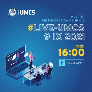 Webinar dla kandydatów #LIVE-UMCS i Program dwutorowej...