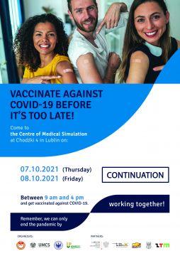 Akcja szczepień przedłużona