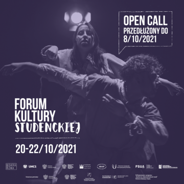 We are extending the OPEN CALL until 8th October!