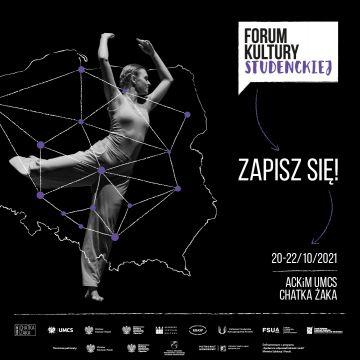 Ruszyły zapisy na Ogólnopolskie Forum Kultury Studenckiej!
