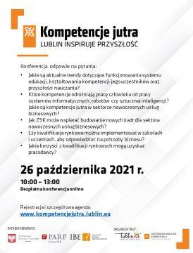 """Kompetencje jutra. Lublin inspiruje..."