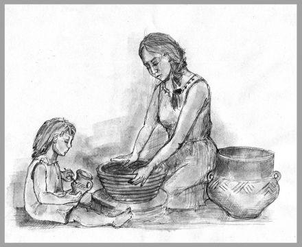 Wytwórczość ceramiczna ludności kultury łużyckiej -...