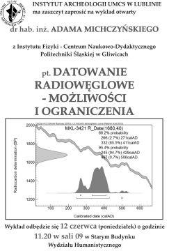 Datowanie radiowęglowe - wykład otwarty