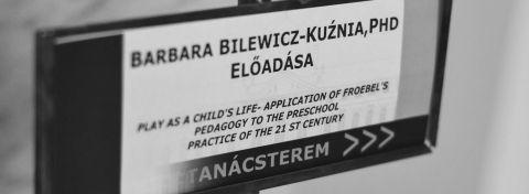 Dr Bilewicz-Kuźnia na Uniwersytecie w Seged