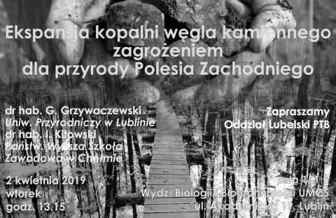 Wykład dra hab. G.Grzywaczewskiego i dra hab. I.Kitowskiego