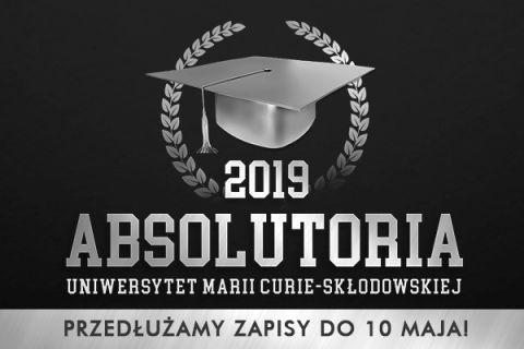 Przedłużenie zapisów na Absolutoria 2019.