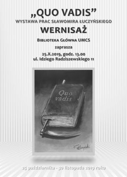 """33. Bakcynalia i wystawa """"Quo Vadis"""""""