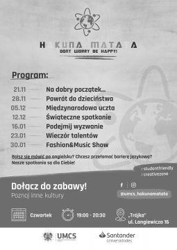 Hakuna Matata - dołącz do zabawy!