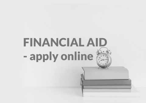 Financial aid - online applications